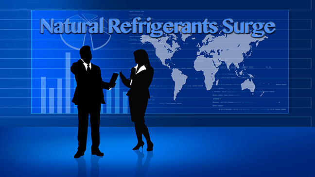 Natural Refrigerants Surge